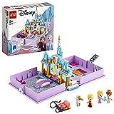 LEGO 43175 Disney Princess Les Aventures d'Anna et Elsa dans Un Livre de Contes Château de la Reine des Neiges, Jeu de Voyage