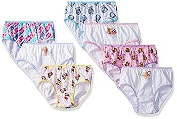 Paw Patrol Big Girls Pups 7 Pack Panty Assorted 8