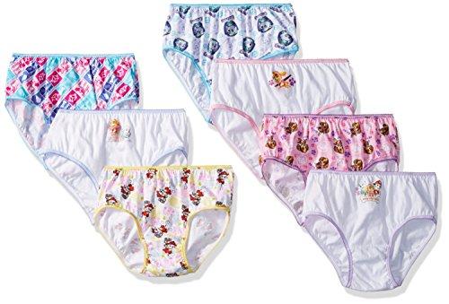 Nickelodeon PAW Patrol Girls' 7 Pack Panties Underwear (4)