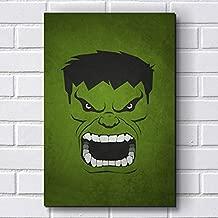 Placa Decorativa em MDF com 20x30cm - Modelo P14 - Hulk - Vingadores