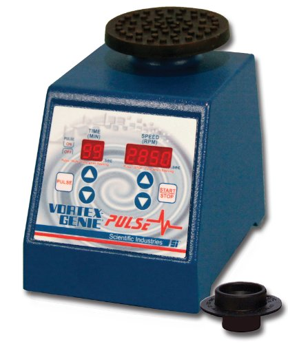 Scientific Industries SI-P236 Vortex-Genie Pulse Pulsing Vortex Mixer, 120V, 500 - 3000rpm