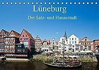 Lueneburg - Die Salz- und Hansestadt (Tischkalender 2022 DIN A5 quer): Die historische Salz- und Hansestadt Lueneburg von ihrer schoensten Seite (Monatskalender, 14 Seiten )