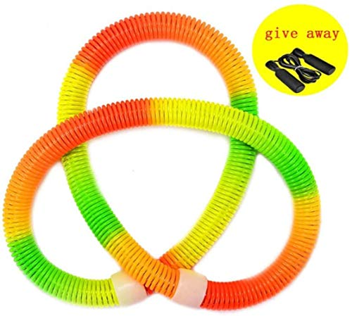 Check Out This HTZ Fitness Ring Hula Hoop to Send Skipping Rope Hula Hoop Thin Waist PVC Weight Loss...