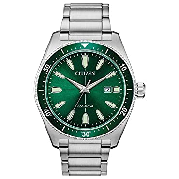 Citizen Watches Men's AW1598-70X Brycen Silver Tone One Size