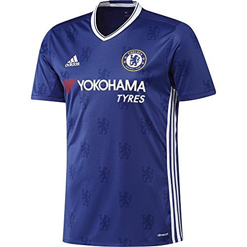 adidas Herren Fußball/Heim-Trikot FC Replica, Chelsea Blue/White, S