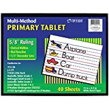 Multi-Method Primary Tablet 5/8' Ruling (Case of 72)