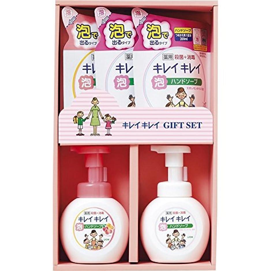 とは異なりロッジ合理化ライオン キレイキレイギフトセット LKG-20S 【いい香り 肌に優しい 良い匂い ハンドソープ 詰め替え 泡 ボトル 手洗い 風邪予防 殺菌効果 子供向け 汚れ 除菌 手に優しい 日本製 薬用】