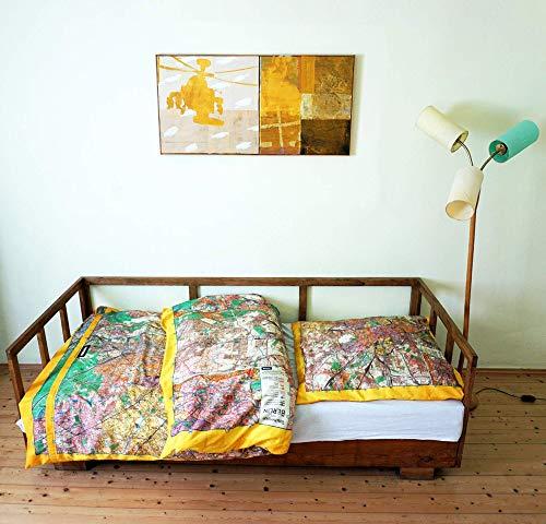 BERLIN Bettbezug Bio-Baumwolle Organic-Cotton, DDR 1960er Jahre