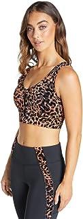 Rockwear Activewear Women's Mi Just Peachy Zip Sports Bra From size 4-18 Medium Impact Bras For