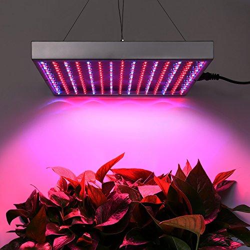 Amzdeal 10W LED Plant Grow Light, 225 LEDs with...