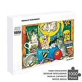 1000ピース ジグソーパズル パズル きめつのやいばグッズ公式 Puzzle(50x75cm) 教室の子猫 Class10 1000 PCS