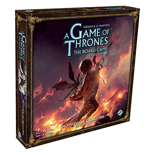 Fantasy Flight Games: Game of Thrones, het bordspel Een Game of Thrones Het plankspel: Mother of Dragons Expansion diverse kleuren
