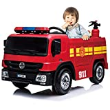 kidsclub Ride On Fire Truck