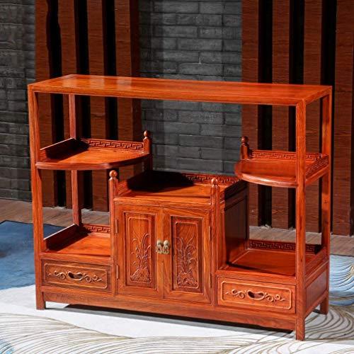 WTT Redwood symmetrie dressoir retro nachtkastje multifunctionele dubbele deur met 2 laden bar kantoor woonkamer