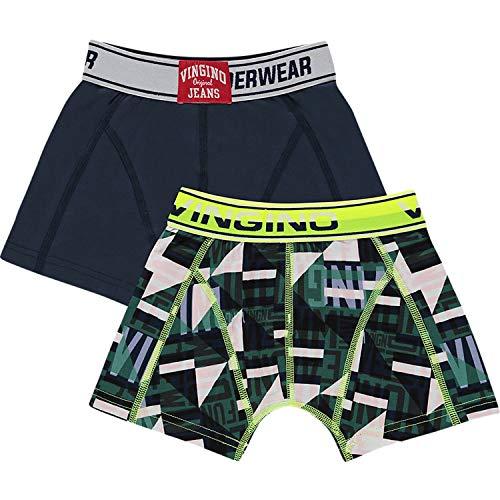 Vingino 2-er Pack Boxershorts Graphic Boys-110-116 - Kindermode : Jungen