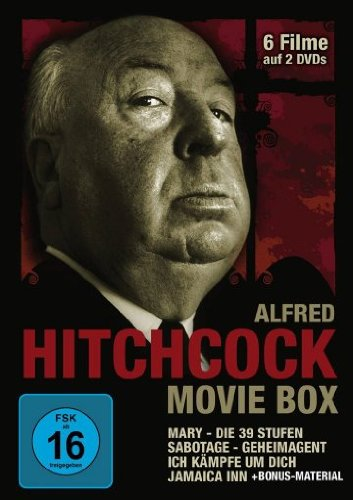 Alfred Hitchcock Movie Box inkl.