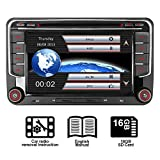 IAUCH 7'GPS Navigation Car Stereo support Bluetooth GPS Radio Mirror Link DAB+ WinCE Touch Screen Car DVD...