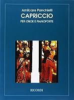 ポンキエッリ : カプリッチョ (オーボエ、ピアノ) リコルディ出版