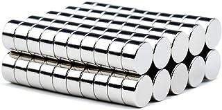 磁石 超強力 小型 多用途 丸形マグネット 冷蔵庫、事務所、科学、工芸に最適 小型丸ディスク磁石 (6*3mm (100個))