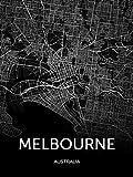 QianLei Moderne Leinwand Kunst Australien Karte Sydney