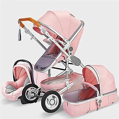 HZPXSB Cochecito de bebé Multifuncional de Lujo 3 en 1 Baby Pushchair Baby Carro portátil bebé Cochecito Baby bayinet recién Nacido (Color : Color06)
