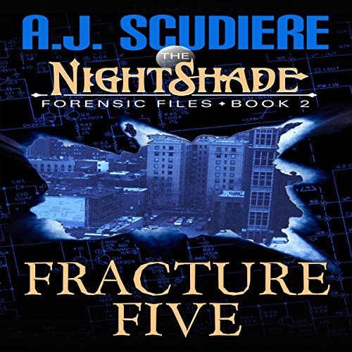 The NightShade Forensic Files audiobook cover art