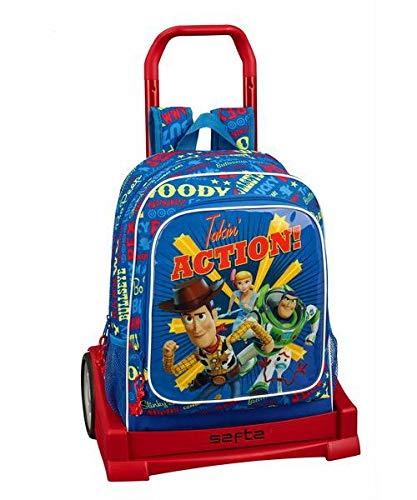 Toy Story 4 Mochila con Carro Ruedas Evolution, Trolley