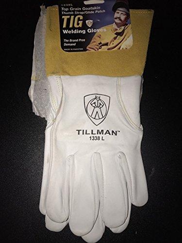 Tillman 1338 Top Grain Goatskin TIG Glove with Glide Patch Large