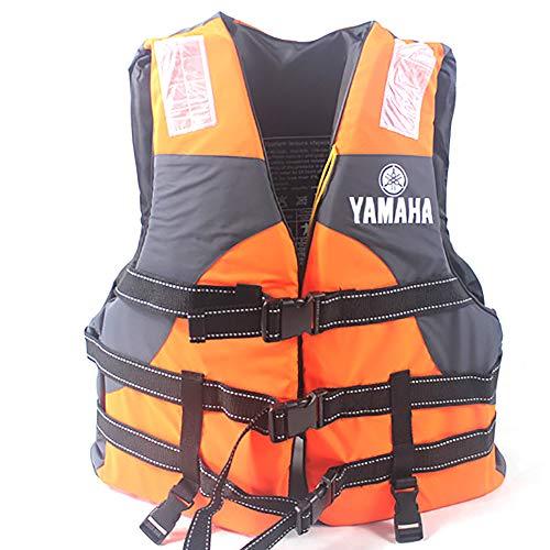 MOKY Flotador Unisex Snorkel Chaleco Chaleco para Nadar Portátil Inflable Kayak Remo Chaleco De Buceo Deportes Acuáticos para Los Niños Edad Mujeres Hombres,Naranja