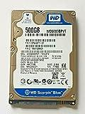 Disco duro SATA WD5000BPVT-16HXZT2 de 500 GB, 5400 rpm, 8 MB, 2,5 pulgadas