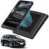 Chargeur sans Fil Voiture pour Cadillac XT5 XT6 2021 2020 2019 Panneau la Console Centrale de...