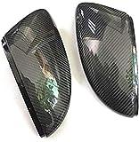 Cubierta de Espejo retrovisor de Fibra de Carbono, Cubierta de Espejo Lateral, paraV & W Passat B7 CC Jetta MK6, Cubierta de Espejo de ala de Puerta de Escarabajo