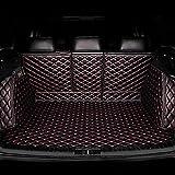 Alfombrilla para Maletero de Coche para Volkswagen Touareg 2019 2020, Cuero Funda De Maletero De Coche Protector, 3D Alfombrilla Protectora para Maletero Almohadilla de Bandeja