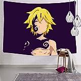 Engshi Mantas para Cama Wall Tapestry The Se-Ven D-eaD-LY Si-NS Wall Art...
