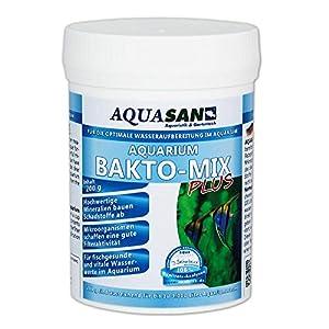 AQUASAN-Aquarium-BAKTO-Mix-Plus-200-g-GRATIS-Lieferung-in-DE-Wasseraufbereitendes-Pflegeprodukt-Leistungsstarke-Mikroorganismen-und-hochwertige-Mineralien-fr-kristallklares-Wasser