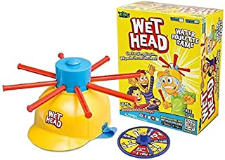 ZING Wet Head, Water Roulette, Fun Game, 4 Years and Above, English