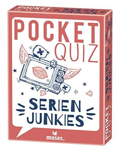 Pocket Quiz Serienjunkies | 150 Fragen und Antworten für TV-Fans: 150 Fragen für alle Serienjunkies! (Pocket Quiz / Ab 12 Jahre /Erwachsene)