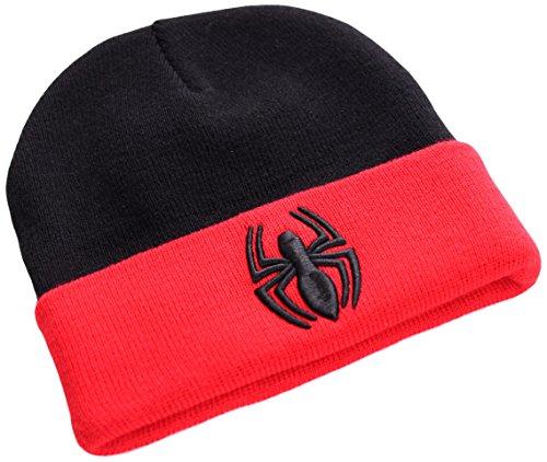 Marvel Spiderman Bonnet, Noir, Fabricant: Taille Unique Mixte
