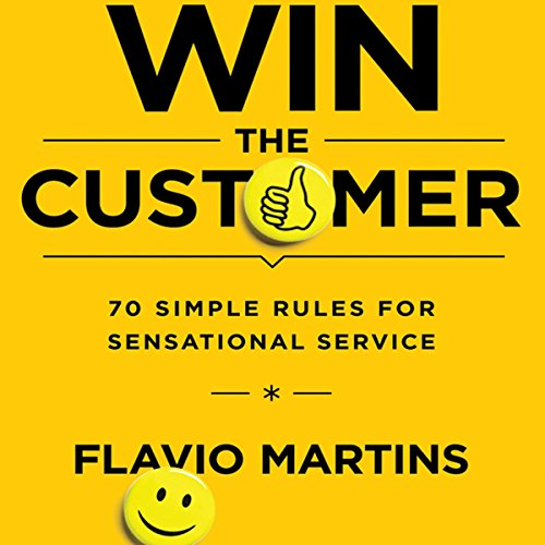 Win the Customer audiobook cover art
