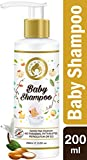 Mom & World Tear Free Baby Shampoo with Organic Moroccan Argan Oil and Oats Extract, 200 ml