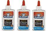 Elmer'S Elmers líquido Escuela de pegamento, lavable Ovormi 3Pack (5 oz) de Claro