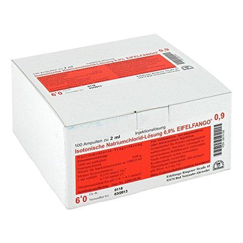 ISOTONISCHE NaCl Lösung 0,9% Eifelfango Inj 100X2 ml