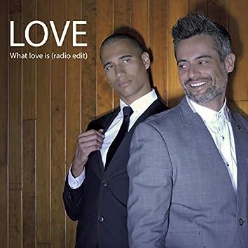 What Love Is (Radio Edit)