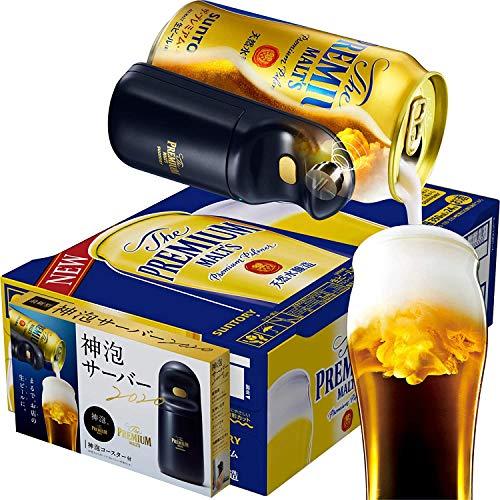 【お家でお店のような生ビールを】 ザ・プレミアム・モルツ 新神泡サーバー2020&コースター付 [ 350ml×24本 ]