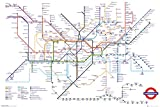 GB eye LTD, Transport for London, U-Bahnkarte, Maxi-Poster,