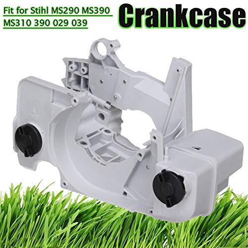 MXBIN Motorgehäuse Crankcase Fuel Gas Tank for Stihl MS290 MS390 MS310 390 029 039 Gehäusebaugruppe ersetzt Teile Werkzeugteile Hardware-Reparaturwerkzeuge