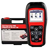 Autel MaxiTPMS TS501 Relearn Tool, Advanced Version of TS408/ TS401 TPMS Reset, TPMS diagnose, Read/ clear TPMS DTCs, Sensor Activation, Program MX-Sensor, Key Fob Testing, Relearn by OBD function