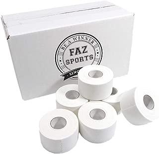 FAZ Sports White Athletic Tape -Trainer & Therapist Choice Premium 1.5