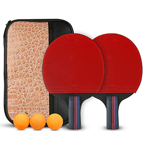 Read About Hewen-Ping Pong Set Pingpong Racket Table Tennis Bat Beginner Portable Ping Pong Bat Set ...