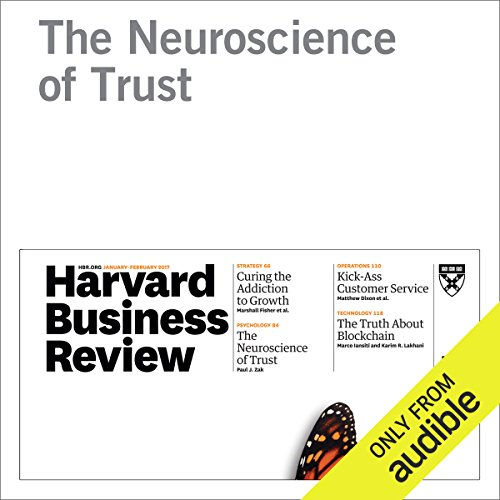 The Neuroscience of Trust audiobook cover art